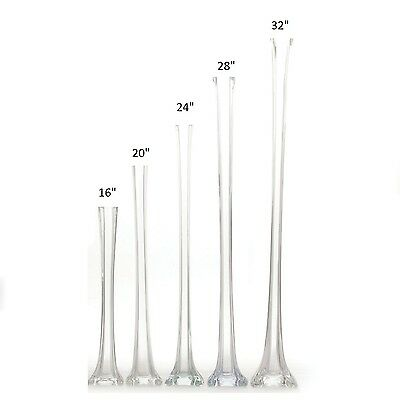 12 Pack Eiffel Tower Vases 3 Colors Wedding Centerpiece In 7