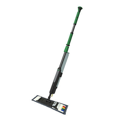 Unger FAKT3 erGO! Clean Bodenreinigungs-Set Taschenmopp 40 cm Teleskopstiel 2