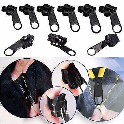 6X Fix A Zipper Slider Rescue Instant Repair Kit Replacement Universal Hot