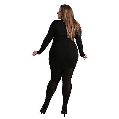 Pamela Mann Maxi Curvy Extensible Couture Spécialiste Collant Grande Taille 5XL