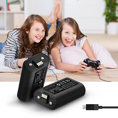 Rechargeable Li-ion Battery Pack Play & Charge Kit for Microsoft Xbox One USA 3