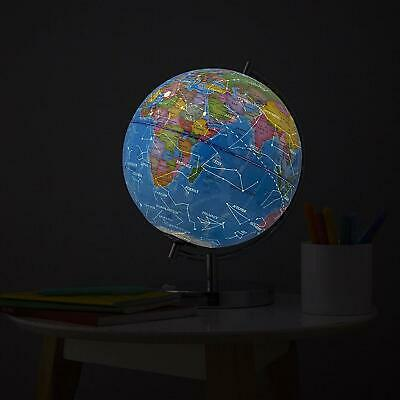 Science Kidz 2 in 1 Illuminated World Globe Light Up Constellation Night Lamp 3