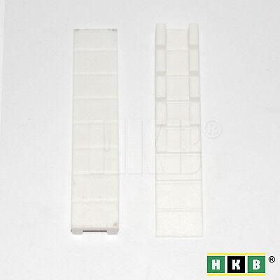 Möbelkeil Kunststoff weiss 4 Stück