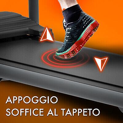 TAPIS ROULANT ELETTRICO PIEGHEVOLE 600 W (2,5 HP PICCO) ARTGO PABLO 7 Km/h MAX 5