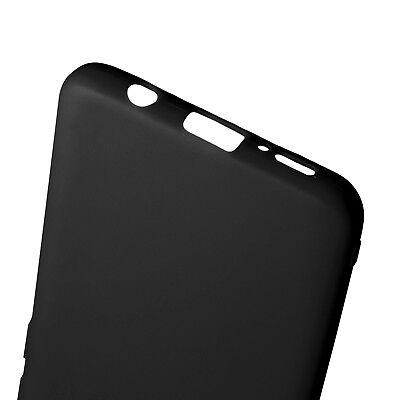 Matte Silikon Case für Samsung Galaxy S9 Samsung Galaxy S9+ Plus Unifarben Hülle 5
