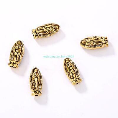 DIY Jewelry Making Charms Jesus Loose Rosary Spacer Beads Wholesale  Alloy 2