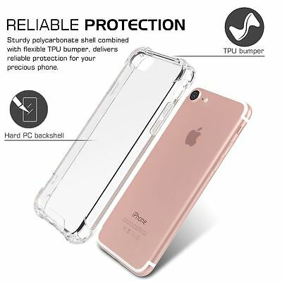Case for iPhone 8 7 Plus XR XS MAX ShockProof Soft Phone Cover TPU Silicone New 5