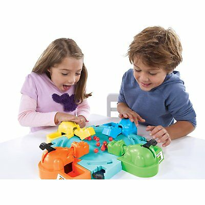 Frog Frenzy Board Game Children Kids Family Toy Xmas Gift Hungry Frogs Hippos 8