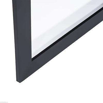 "31.5"" Hockey Jersey Display Case Frame Shadow Box Football Baseball Black Wood 7"