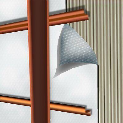 "US Energy 3 HVAC  Duct Wrap Reflective insulation Foam core  48/"" X 10ft"