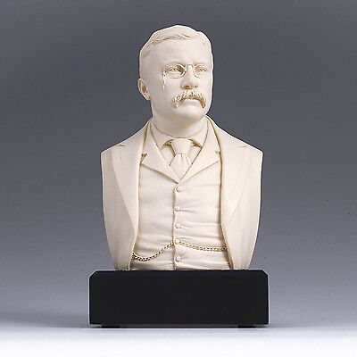 President Theodore Roosevelt Historical Bust Collectible Figure GREAT AMERICANS 2