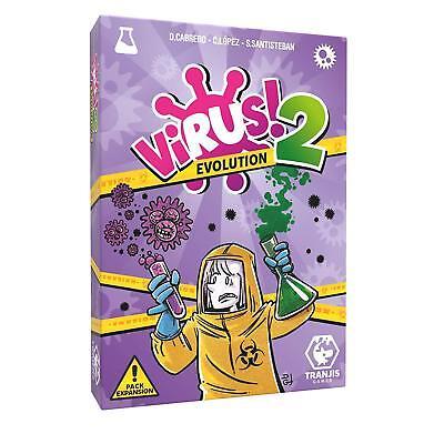 Pack Juego de Cartas Virus + Expansión Virus 2 Evolution. Edición Española. 3