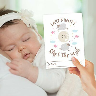 Baby Milestone Cards ~ 1st Year Memorable Moments Boy Girl Unisex Age 5