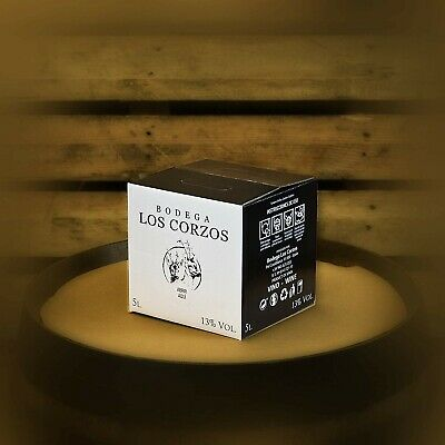 Bag in Box 5L Vino Tinto Recomendado Bodega Los Corzos 13% Vol 2