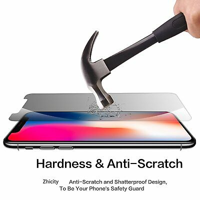 Apple iPhone X XS Max XR 8 7 6 6S Plus SE 5S 5 Tempered Glass Screen Protector 6