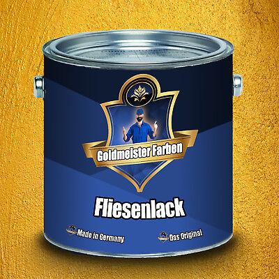 Goldmeister Farben hochwertig 2K Fliesenlack Anthrazitgrau glänzend Fliesenfarbe 4