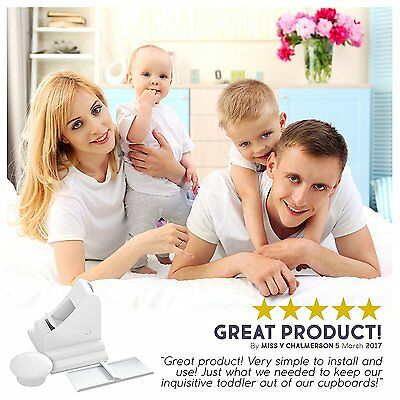 Invisible Safety Baby Magnetic Cupboard Drawers Lock Door Child Baby Pet Proof 4