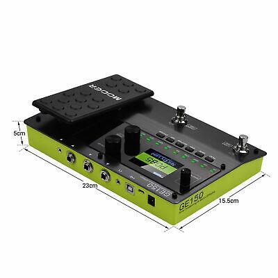 MOOER GE150 Amp Modelling & Multi Effects Pedal 55 Amplifier Models New release 4
