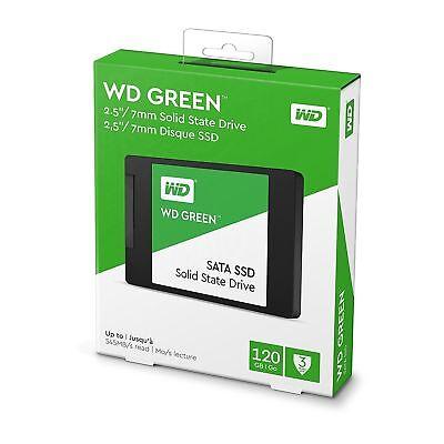 """SSD 2.5"""" WD Green Blue 120GB 250GB 500GB 1TB 2TB SATA Internal Solid State Drive 6"""