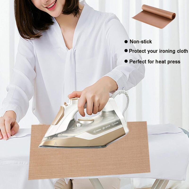 6pcs teflon sheet for heat press ptfe heat trasfer iron resistant baking cloth 8