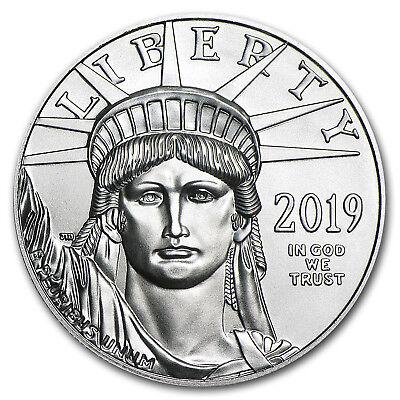 2019 1 oz Platinum American Eagle BU (w/U.S. Mint Box) - SKU#185245 2