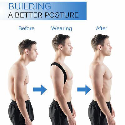 Posture Corrector Back Support Brace for Women Men Upper Back & Neck Pain Relief 6