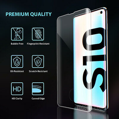 Galaxy S10 S9 S8 Plus S10e Note 9 8 Full Tempered Glass Screen Protector Samsung 2