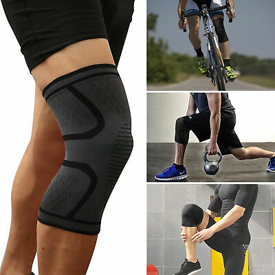 2pcs Knee Sleeve Compression Brace Support For Sport Joint Pain Arthritis Relief 7