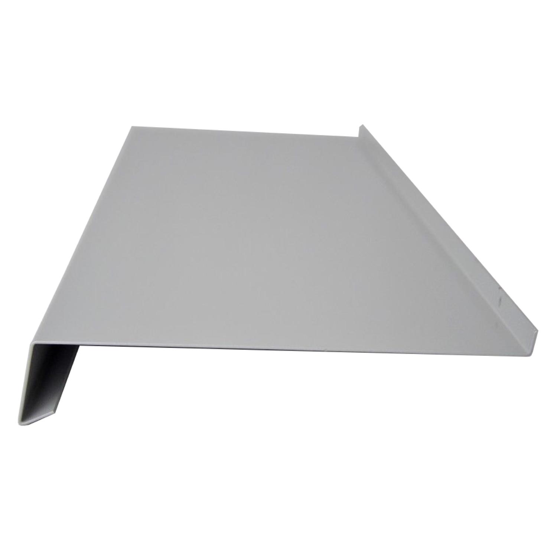 Appui De Fenêtre Aluminium Argent Ral 9006 Tous Rapports Alu Tôle