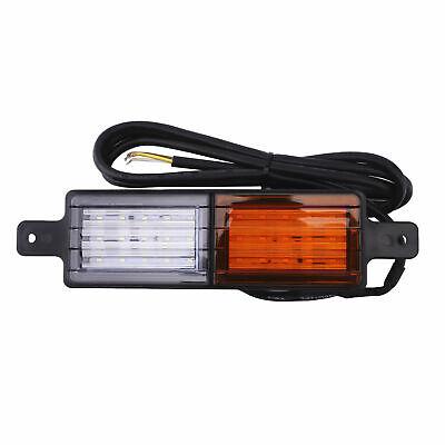 2X Sealed Bullbar Lights Set Front Indicator Park LED Bull Bar Light 6