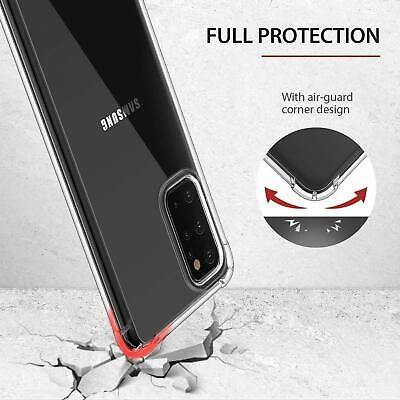 For Samsung Galaxy S20 S20+ Ultra S10 S10+ S10E Heavy Duty Soft Clear Case Cover 10