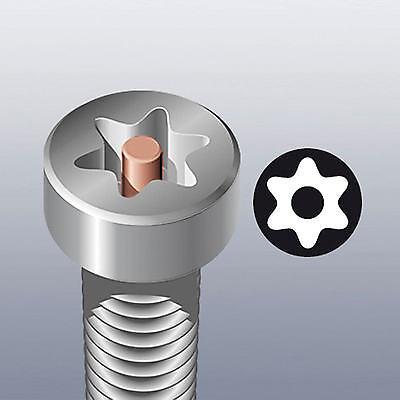 Wera Kraftform Kompakt 62 Tournevis & Long Sécurité Pz  Ph Tx Hexagonal 8