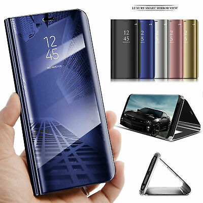 For Samsung Galaxy S9/S8 S10 Plus Note 8/9 Smart Mirror View Flip Case Stand Cov 7