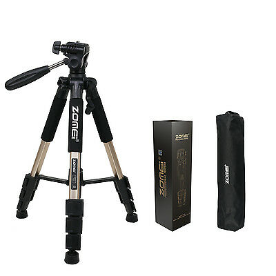 ZOMEI Q111 Professional Aluminum Travel Tripod&Pan Head Portable For Camera
