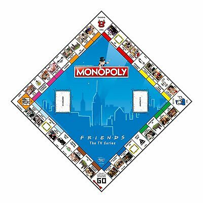 Monopoly Friends The Tv Series Board Game Brand New Gift 3