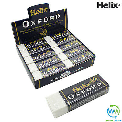 HELIX OXFORD Erasers LARGE Sleeve RUBBER Pencil School Drawing STATIONERY Eraser 2