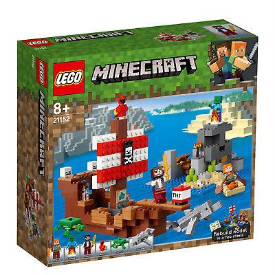 LEGO® Minecraft™ 21152 21151 Das Piratenschiff-Abenteuer Gefecht N2/19 2