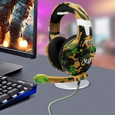 Gaming Headset Mic Headphones for PC Laptop PS4 Slim Pro Xbox One S X 2