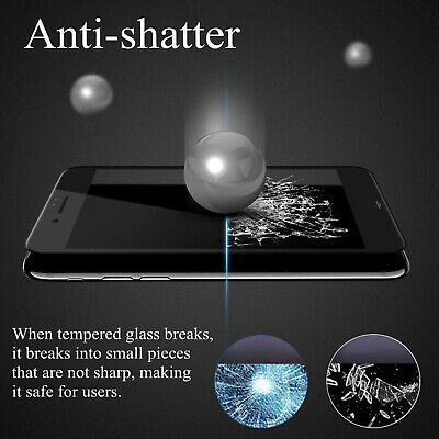 iPhone 11 Pro XS Max XR X 8 7 6 S Plus Tempered Glass Screen Protector for Apple 5