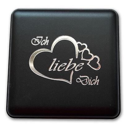 Herz Kette Silber 925 Halskette Anhänger mit Zirkonia für Damen Frauen Geschenk