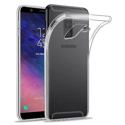 Transparente coque Samsung Galaxy A6/A6Plus 2018+ Verre trempé écran protecteur 8