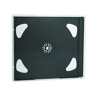 100x 2 Fach CD Jewel Case - CD Hüllen Doppel CD Leerhüllen