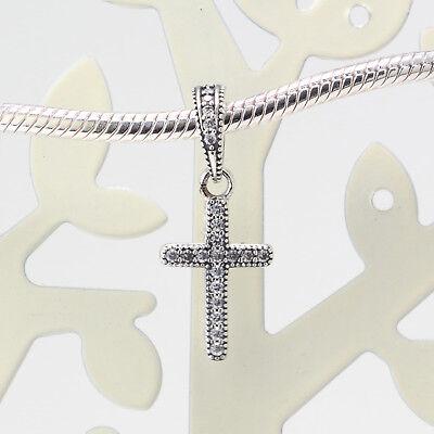 New Authentic Pandora Charms 925 Sterling Silver ALE Cubic Zircon Bracelet Bead 2
