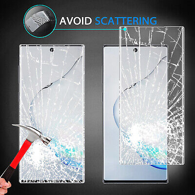 For Samsung Galaxy Note 10+ Plus 5G Clear Case With Full Cover Screen Protector 12