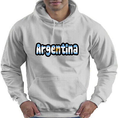 Argentina Flag Love Childrens Childs Kids Boys Girls Hoodie Hooded Top 3
