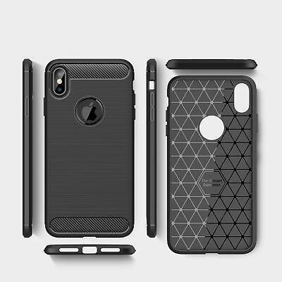 For iPhone XR X XS Max 7 8 Plus 8+ Heavy Duty Shockproof Tough Rubber Case Cover 7