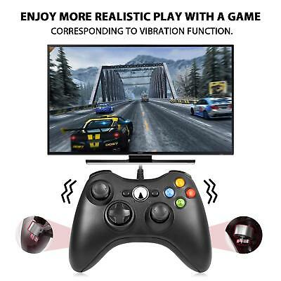 Wired USB Game Controller Joystick for Microsoft Xbox 360 / PC Windows XP 7 8 10 3
