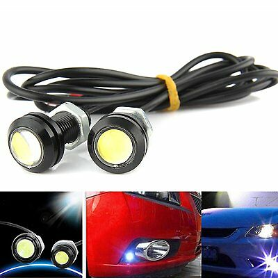 2PCS DC 12V 15W Eagle Eye LED Daytime Running DRL Backup Light Car Auto Lamp