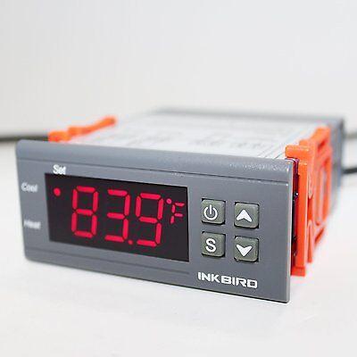 220V AC Inkbird ITC-1000 Digitale Temperature regler NTC Fühler sensor heat cool 2