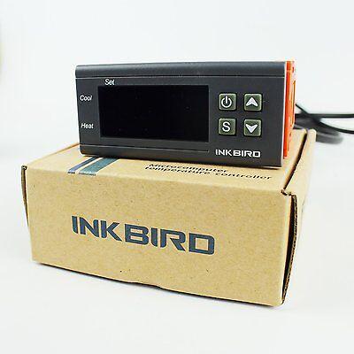 220V AC Inkbird ITC-1000 Digitale Temperature regler NTC Fühler sensor heat cool 6